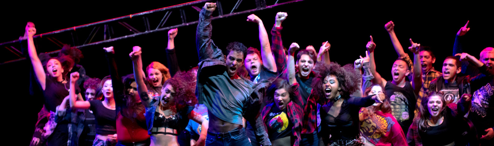 American Idiot Performance - Photo by Geovanny Lopez photography department